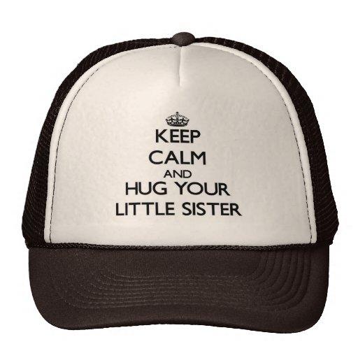 Keep Calm and Hug your Little Sister Hats