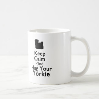 Keep Calm and Hug Your Yorkie Mug