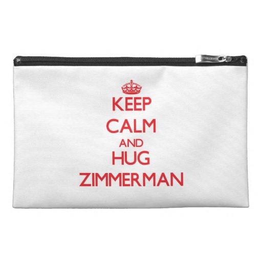 Keep calm and Hug Zimmerman Travel Accessories Bag