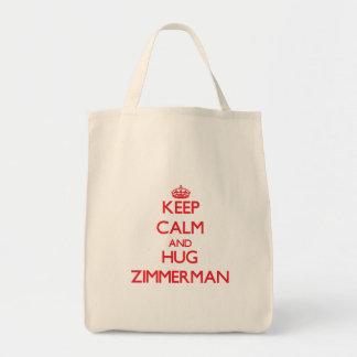 Keep calm and Hug Zimmerman Bag