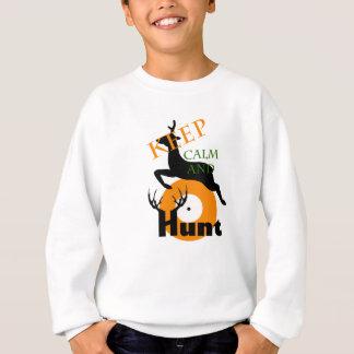 Keep Calm and hunt Sweatshirt
