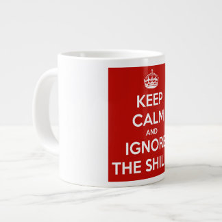 Keep Calm and Ignore the Shills Large Coffee Mug