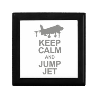 Keep Calm and Jump Jet Gift Box