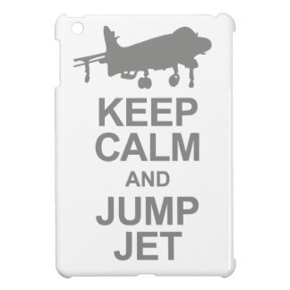 Keep Calm and Jump Jet iPad Mini Cases