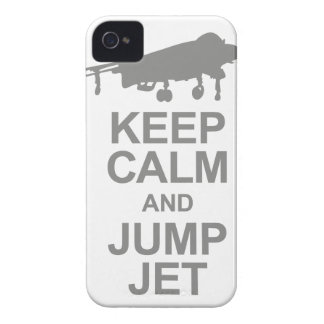Keep Calm and Jump Jet iPhone 4 Case