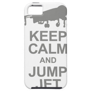 Keep Calm and Jump Jet iPhone 5 Case