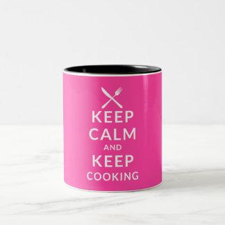 Keep Calm and Keep Cooking Mug