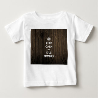 Keep calm and kill zombies baby T-Shirt