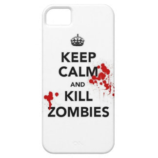 keep calm and kill zombies iPhone 5 covers