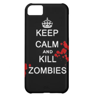 keep calm and kill zombies case for iPhone 5C