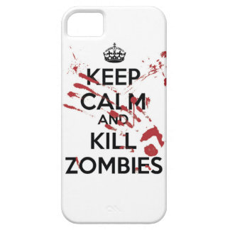 Keep Calm And Kill Zombies marries iPhone 5 Cases