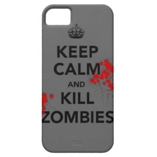 keep calm and kill zombies phone case case for the iPhone 5