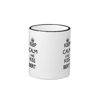 Keep Calm and Kiss Bert Ringer Mug