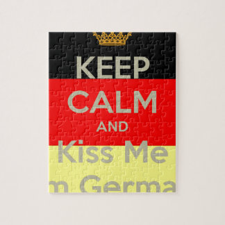 keep-calm-and-kiss-me-i-m-german jigsaw puzzle