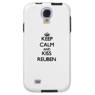 Keep Calm and Kiss Reuben Galaxy S4 Case