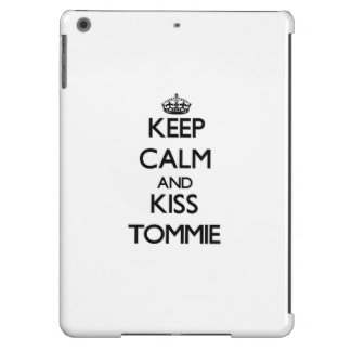Keep Calm and Kiss Tommie Cover For iPad Air