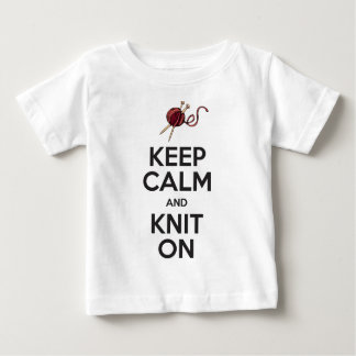 Keep Calm and Knit On (light) Shirt