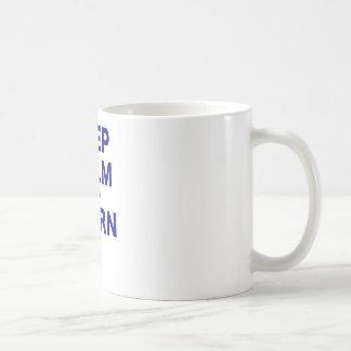 Keep Calm and Learn Coffee Mugs