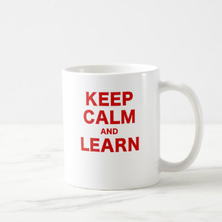 Keep Calm and Learn Mug