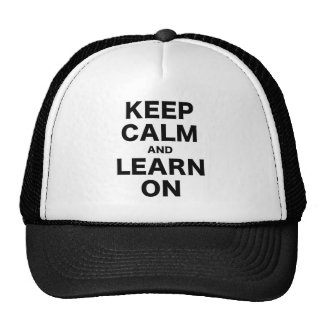 Keep Calm and Learn On Mesh Hats