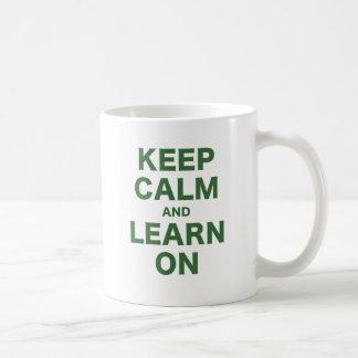Keep Calm and Learn On Coffee Mug