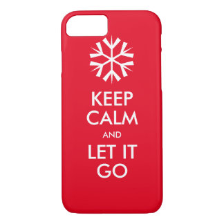 Keep calm and let it go iPhone 8/7 case