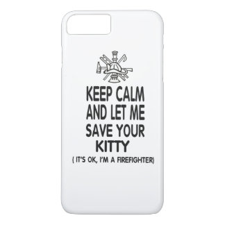 Keep Calm And Let Me Save Your Kitty iPhone 7 Plus Case