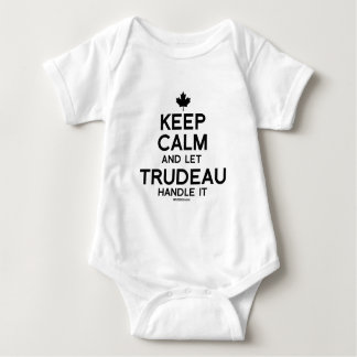 Keep Calm and let Trudeau Handle it -.png Baby Bodysuit