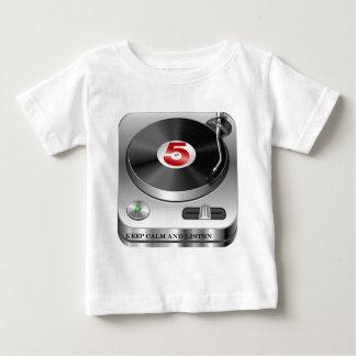 keep-calm-and-listen-house  music baby T-Shirt