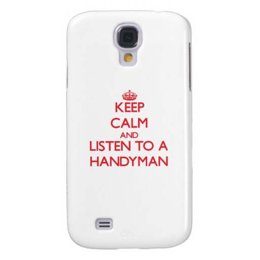 Keep Calm and Listen to a Handyman HTC Vivid Cases