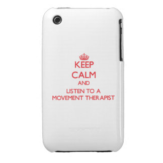 Keep Calm and Listen to a Movement arapist Case-Mate iPhone 3 Case