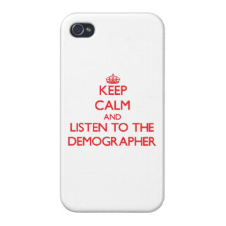 Keep Calm and Listen to a Project Manager iPhone 4/4S Covers
