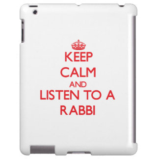 Keep Calm and Listen to a Rabbi
