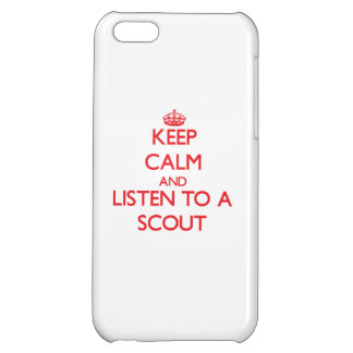 Keep Calm and Listen to a Scout iPhone 5C Case