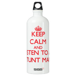 Keep Calm and Listen to a Stunt Man SIGG Traveller 1.0L Water Bottle