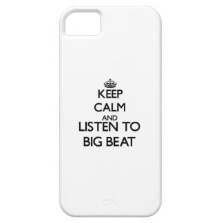Keep calm and listen to BIG BEAT iPhone 5 Covers
