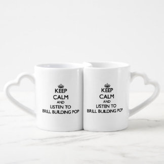 Keep calm and listen to BRILL BUILDING POP Lovers Mug