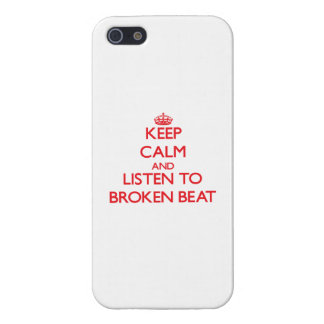 Keep calm and listen to BROKEN BEAT iPhone 5/5S Case