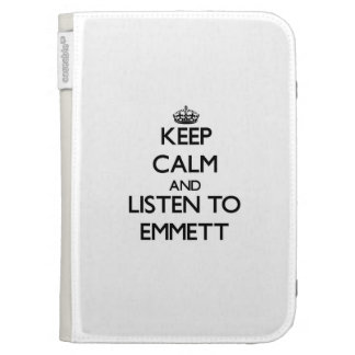 Keep Calm and Listen to Emmett Kindle Covers