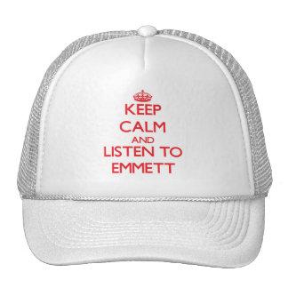 Keep Calm and Listen to Emmett Trucker Hat