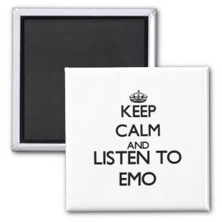 Keep calm and listen to EMO Magnets