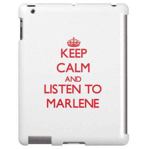 Keep Calm and listen to Marlene