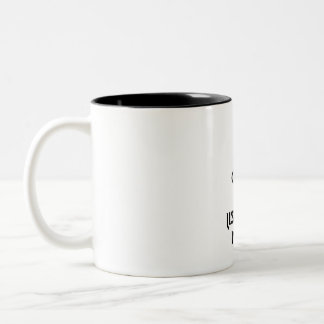 Keep Calm And Listen To Metal Two-Tone Coffee Mug