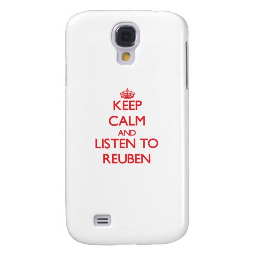 Keep Calm and Listen to Reuben HTC Vivid Cover