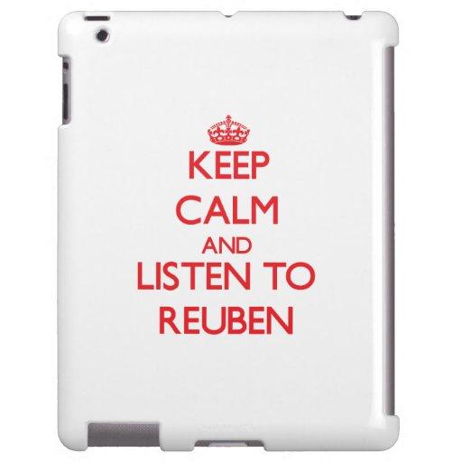 Keep Calm and Listen to Reuben