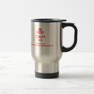 Keep Calm and Listen to the Children s Resort Repr Coffee Mugs