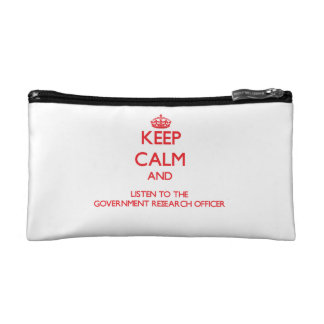 Keep Calm and Listen to the Government Research Of Cosmetic Bag