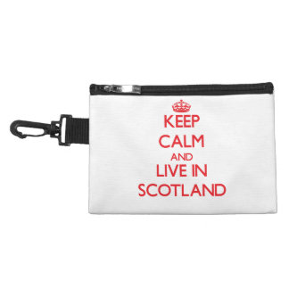 Keep Calm and live in Scotland Accessories Bags