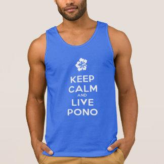 Keep Calm and Live Pono Tank Top