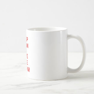 Keep Calm and Live the Dream Coffee Mugs